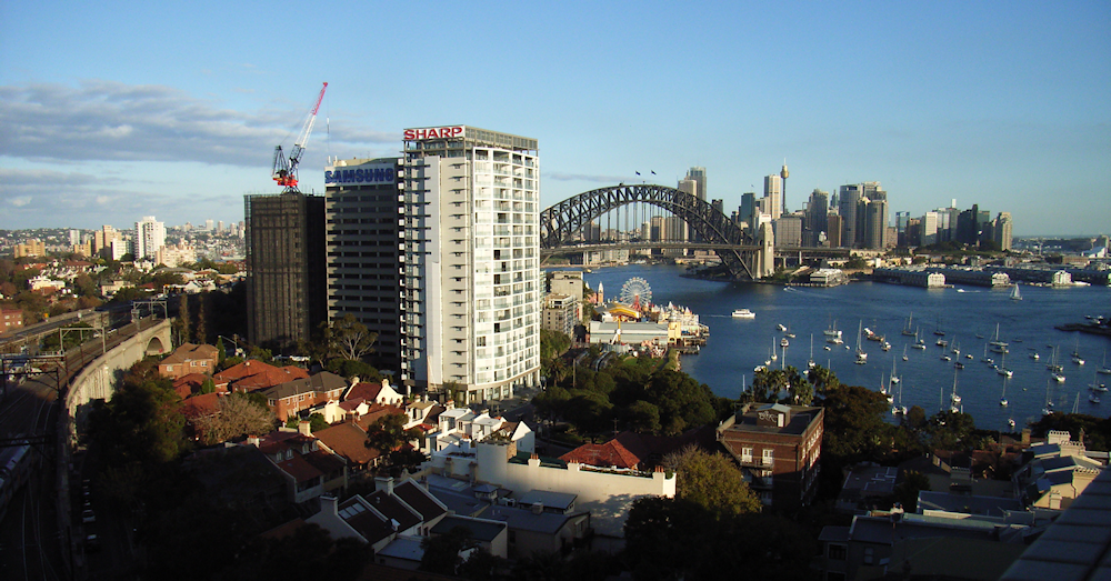 Sydney from Milsons Point