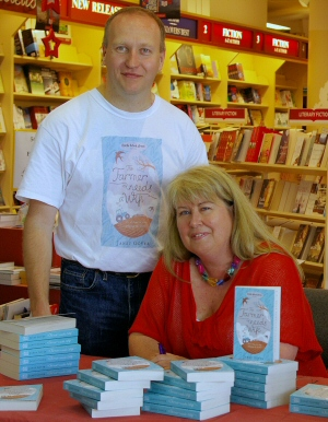 A book signing in Toowoomba, Queensland
