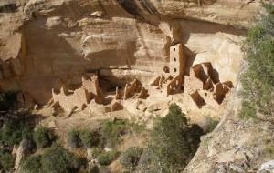 My first sight of a cliff dwelling.