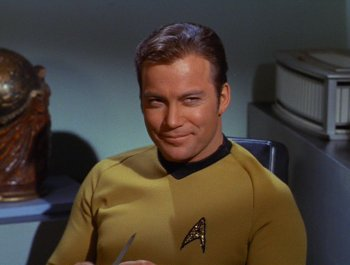 Captain James T Kirk