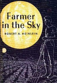 First Edition cover of Farmer in the Sky