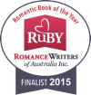 RWA Australia Ruby Finalist Badge