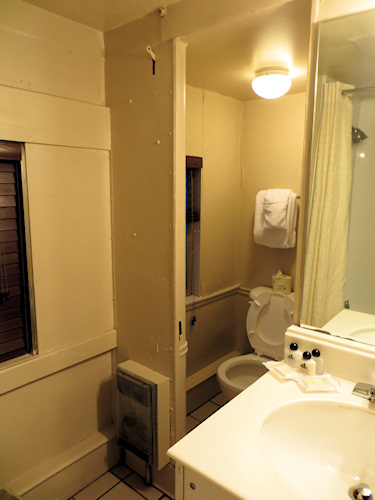 A much better proposition than the bathrooms on the London bound commuter train.