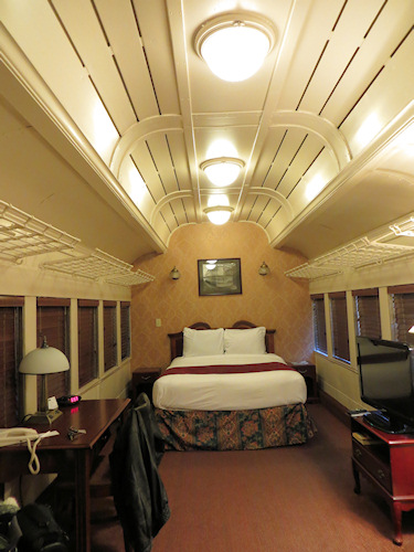 The most luxurious railway carriage I have ever been in.