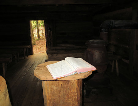 Hymns are still sometimes sung in the old chapel.