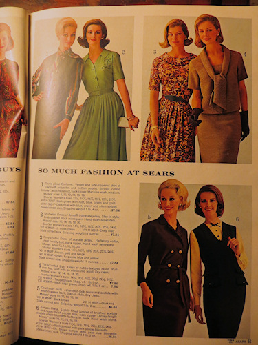 I think my Mum had dresses like this - and a steal at just
