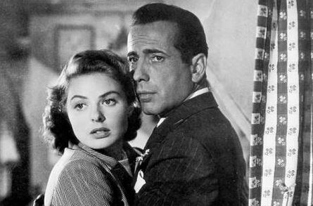 Casablanca – If I hadn't fallen for Humphrey Bogart in Sabrina – this would have done it for me. And Ingrid Bergman was sublime.