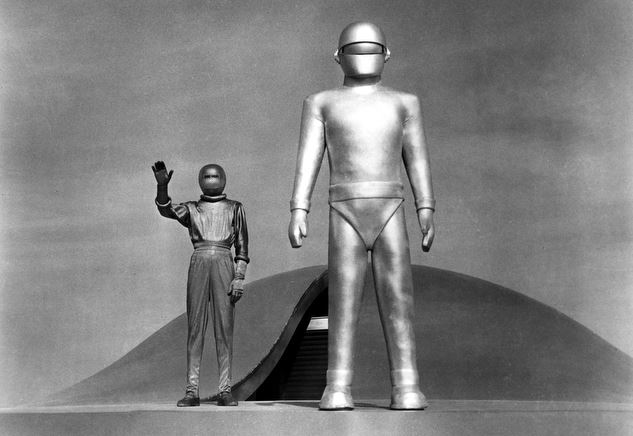 The Day The Earth Stood Still gets on my list, not so much for itself (I am talking here about the Michael Rennie version of course – let's not even think about the Keanu Reeves re-make) but to represent all those lovely old B&W Sci Fi and Horror films. Looking back now, they really were terrible… but how I loved them!