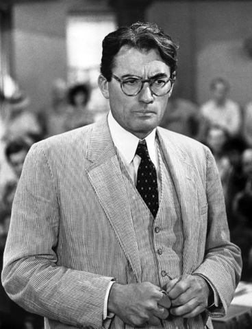 To Kill A Mockingbird – a brilliant adaptation of a favourite book. Traces of Gregory Peck's Atticus Finch can be found in all the heroes I write.