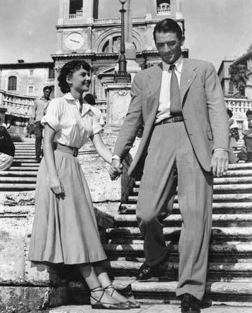 Roman Holiday – Audrey Hepburn and Gregory Peck. Need I say any more?