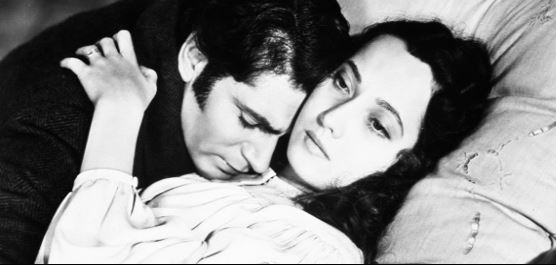 Wuthering Heights – the Merle Oberon / Laurence Olivier version of course.
