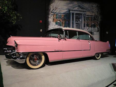 This is the iconic pink Cadillac that he gave to his mother.