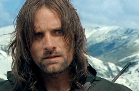 Ok – gratuitous picture of Aragorn - but there is snow in the background – so that makes it one of the good things about winter - doesn't it?