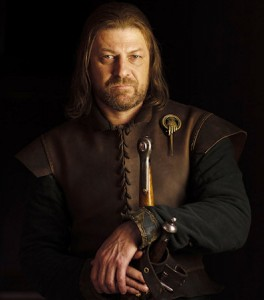 As Ned Stark would say - Winter is Coming. I know - and excuse to use this fab image of Sean Bean looking noble and dependable and hot.
