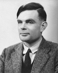 Alan Turing - what a brilliant mind he was.
