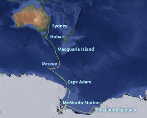 Cape Adare's Route to the Antarctic