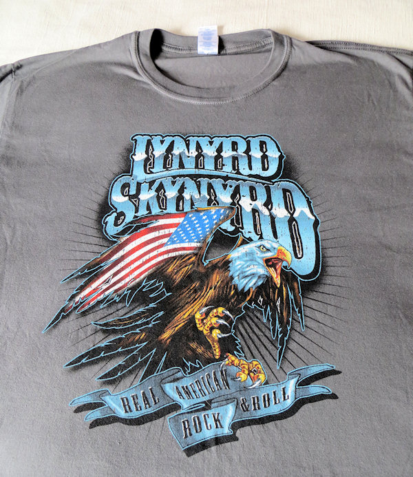 First - the Skynyrd shirt - not exactly girlie, but it makes me remember their spectacular rendition of Free Bird.