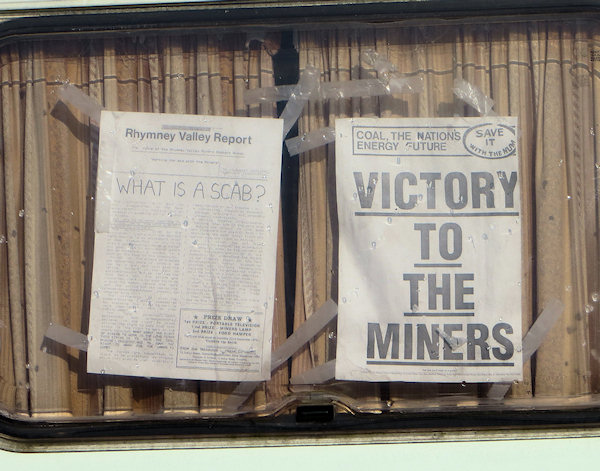 The museum remembers the miners strike.