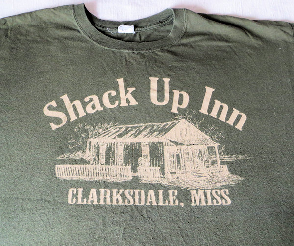The home of the Blues - Clarkesdale Mississippi - where the Shack Up Inn has a revolving door of fab musicians in an all-night jam session.