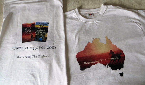 Aren't they lovely... front and back designed by the fabulous webmaster John using my equally fabulous Choc Lit covers.