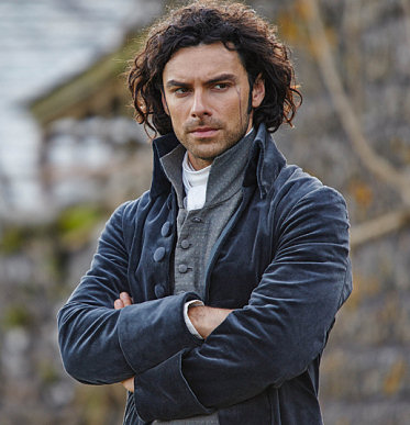 My sudden historical bent has nothing to do the with lovely Ross Poldark... but he hasn't hurt.