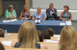 A panel discussion with top literary agents - really useful insights