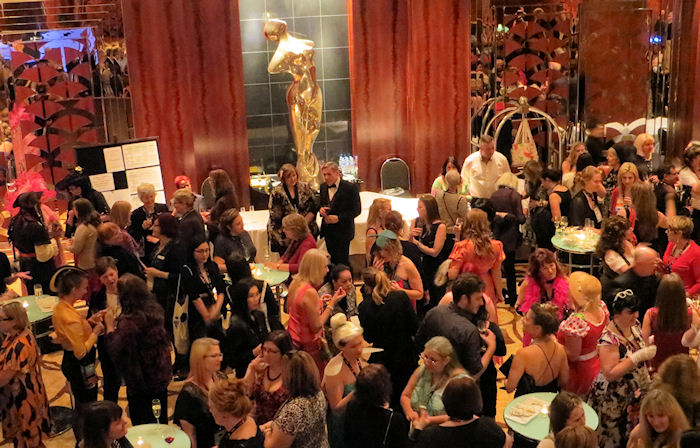 Romance writers are very good at cocktail parties.