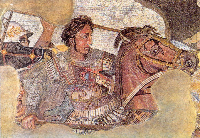 Alexander - certainly a great warrior - or perhaps the leader of a great army