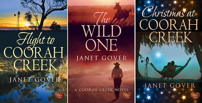 Three books about Coorah Creek... so far.