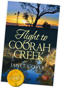 Flight to Coorah Creek published by Choc Lit: Aspen Gold Award Winner