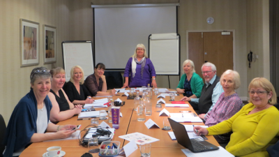 Developing Your Novel Retreat - May 2016 (photo by Alison May)