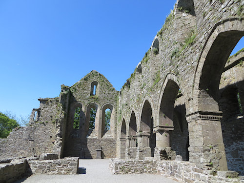Jerpoint Abbey - wonderfully preserved and rather beautiful.