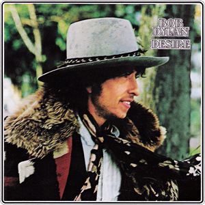 My first Bob Dylan album - it featured the storytelling song 'Hurricane' about a black boxer falsely (so Dylan said) convicted of murder by an all-white jury.
