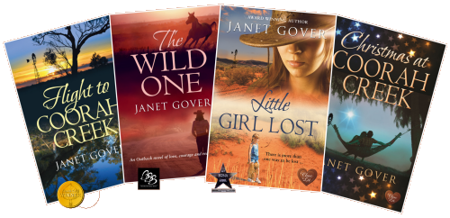 The Coorah Creek series published by Choc Lit