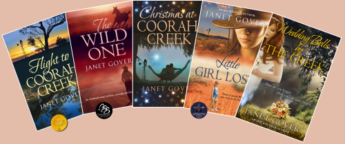 The Coorah Creek series published by Choc Lit & Farwell Publications